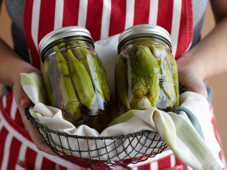 Pickled Okra from FoodNetwork.com