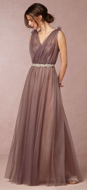 Serenity by Donna Morgan Emmy Dress in Mulberry ... #BridesmaidDress; #inspiration