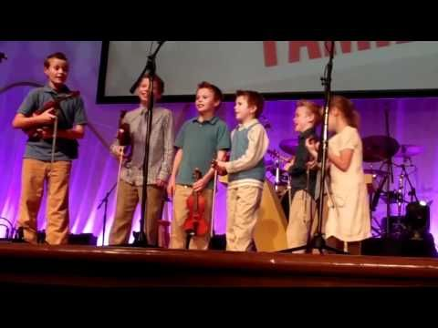 "My video of the Duggar children have a ""funny moment"" while singing at a conference."