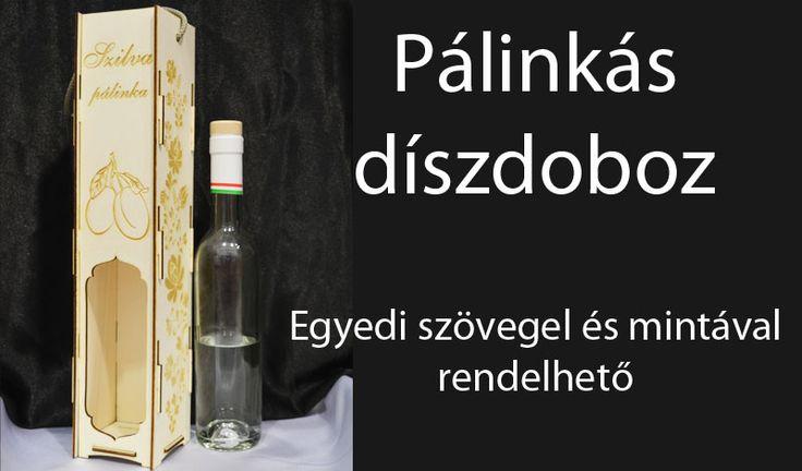 Egyedi gravírozott pálinkás doboz. http://miskolcgravir.hu/lezeres-gravirozas/egyedi-gravirozott-fa-diszdobozok