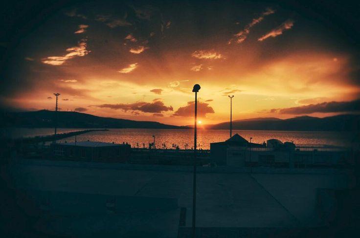 Sunset in Bandırma :)