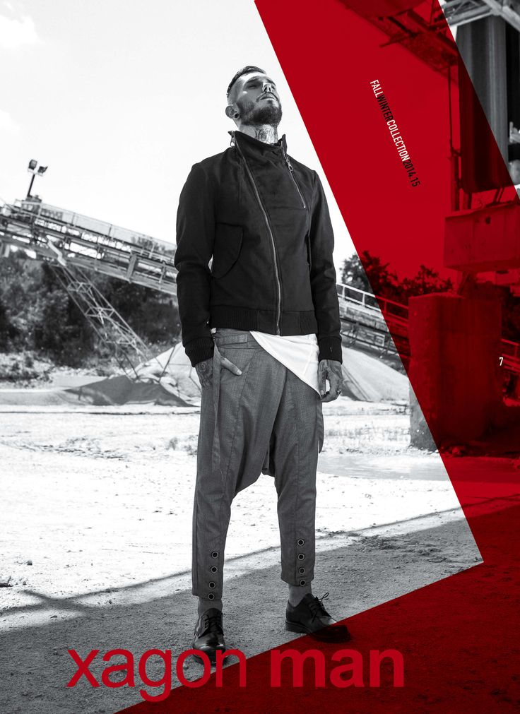 #GROUNDSOUL collection FW 14/15 by Xagon Man. See more @xagonman.it