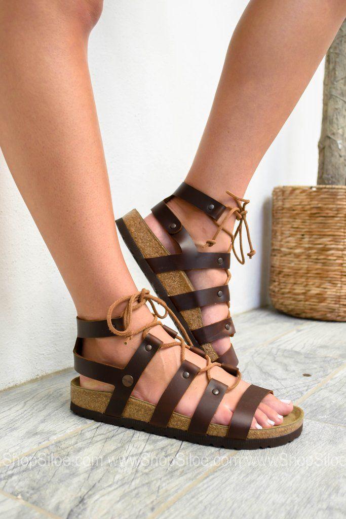 Cleo Cognac Leather Sandal   Papillio