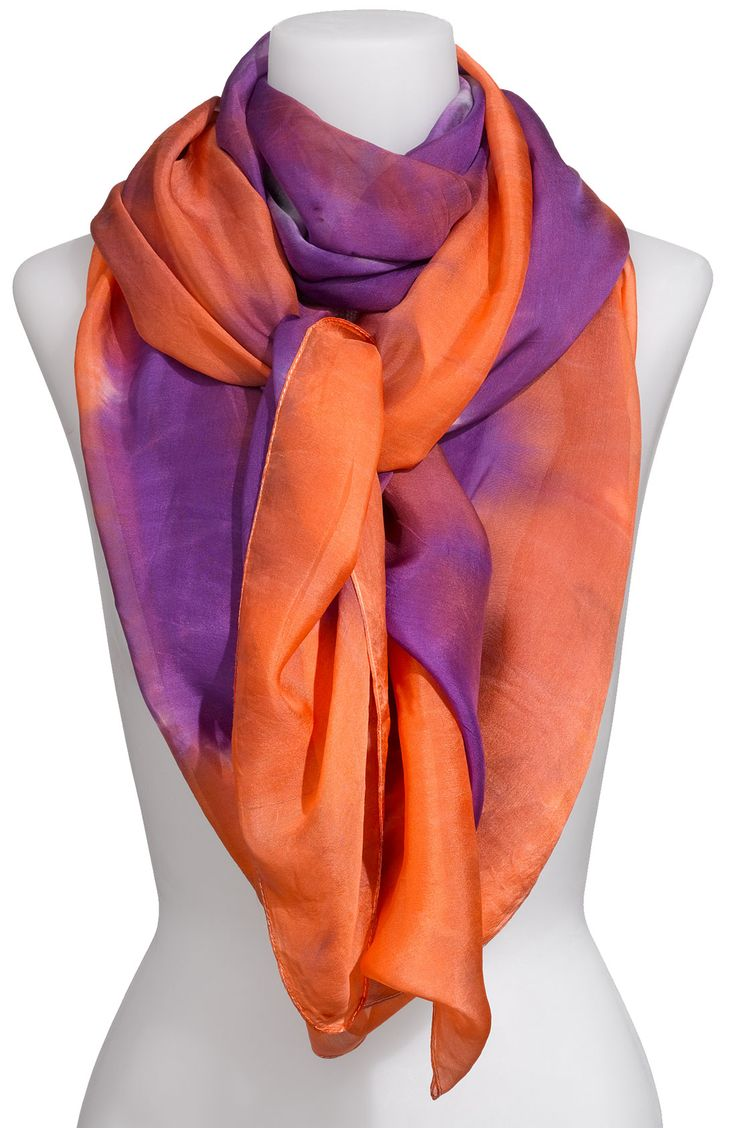 Free shipping and returns on Eyeful 'Oversized' Tie Dye Silk Scarf at Nordstrom.com. A stunning silk scarf is washed with a saturated watercolor effect.