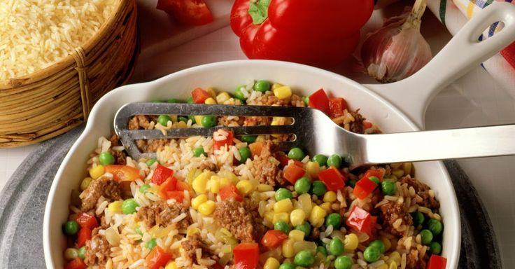 Reis-Hackfleisch-Pfanne ist ein Rezept mit frischen Zutaten aus der Kategorie Reis. Probieren Sie dieses und weitere Rezepte von EAT SMARTER!