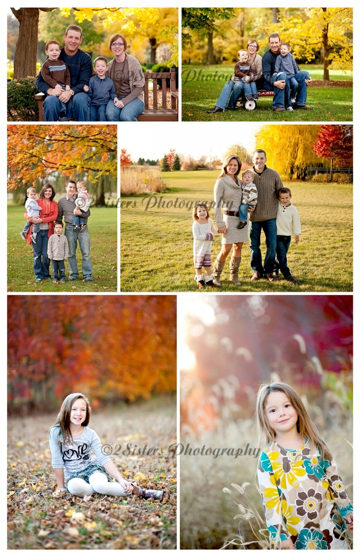 Fall Colors Family Photography
