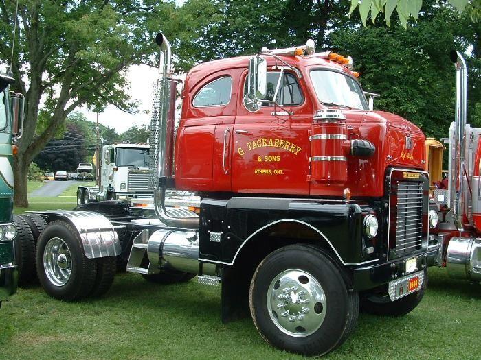 Antique International Harvester Semi Tractor : Trucking ghost riders pinterest