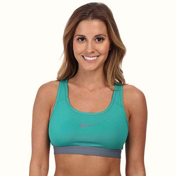 Nike Emerald Green Damen Sport-BH Pro Classic Sports Bra Size Small
