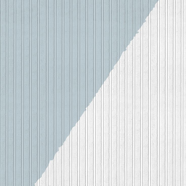 """Texture Bead Board 33' x 20.5"""" Prepasted Paintable Wallpaper"""
