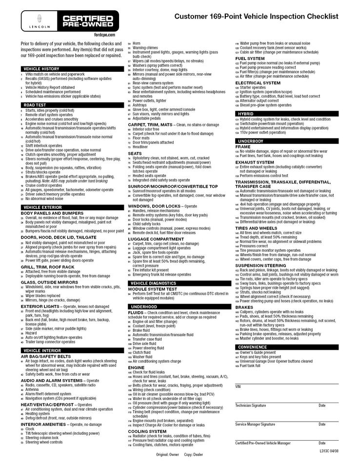 Truck Checklist Form  TowTruckInspectionChecklist  Inspection