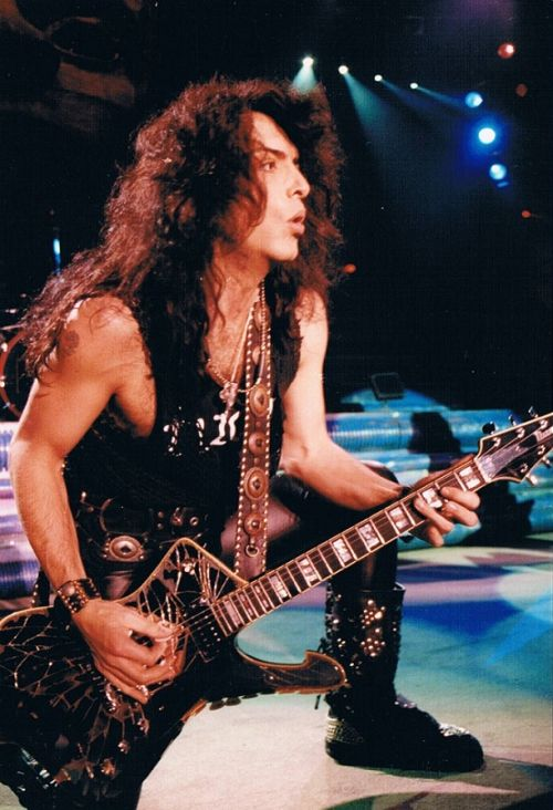 Paul Stanley of KISS - Revenge Tour [1992] Happy Birthday, Mr. Stanley.