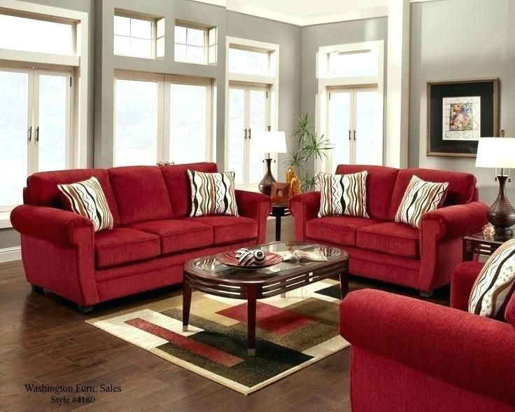 Shiny Red Leather Sofa Design Ideas Photos Idea Red Leather Sofa Design Ideas And Red Leather Red Furniture Living Room Red Couch Decor Red Couch Living Room #red #living #room #furniture #sets