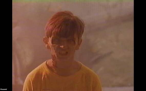 night of the comet zombie. creepy kid.