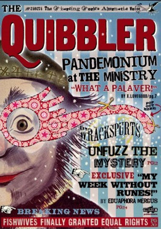 59 best images about Daily prophet & Quibbler on Pinterest ...Quibbler Printable Cover