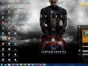 Capitão América: O Primeiro Vingador - Tema pra Windows 7