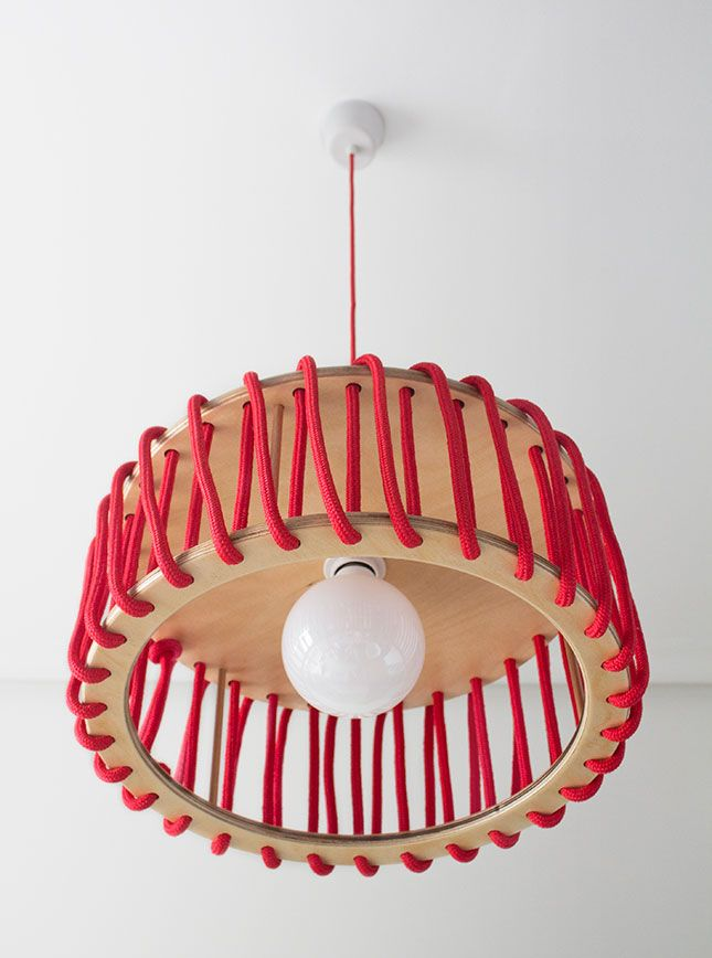 Macaron Lamp by Silvia Ceñal