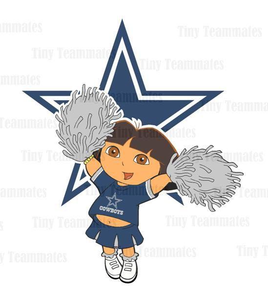 Dallas Cowboys  DIY PRINTABLES  New Dora Design  by TinyTeammates, $5.00