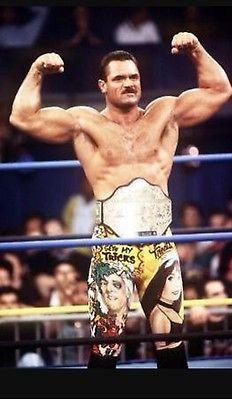 WCW Rick Rude ring worn wrestling tights WWF WWE