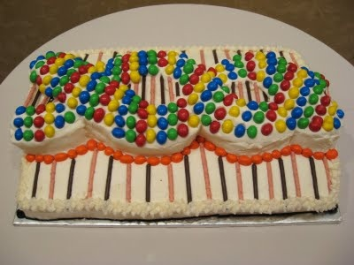 DNA cake - perfect to bake for science class party ...