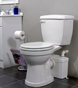 Plumbingsupply.Com Saniflo Sanitop Basement Upflush Toilet Rev