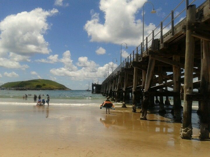 Coffs Harbour Jetty in Coffs Harbour, NSW