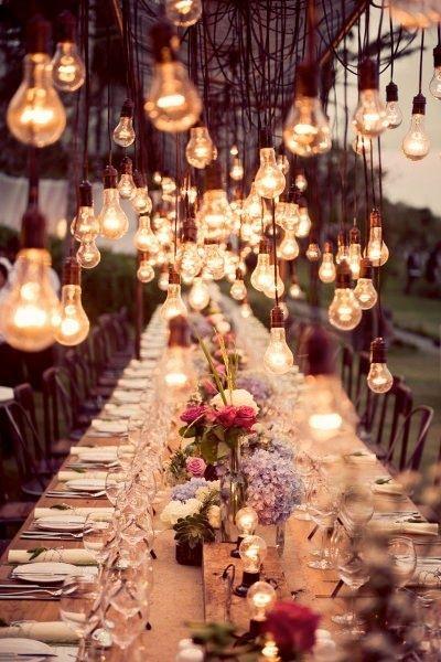 table décorée sur le thème mariage champêtre