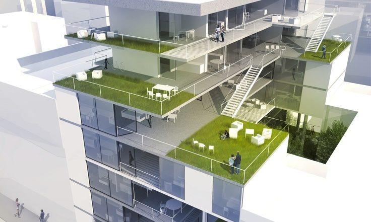 A Social House: Flexible Housing   Jovanna Suarez   Archinect