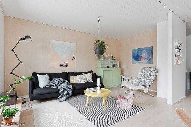Myytävät asunnot, Kappelinluhdankatu 46 A,  Rauma #koti #home #olohuone #livingroom