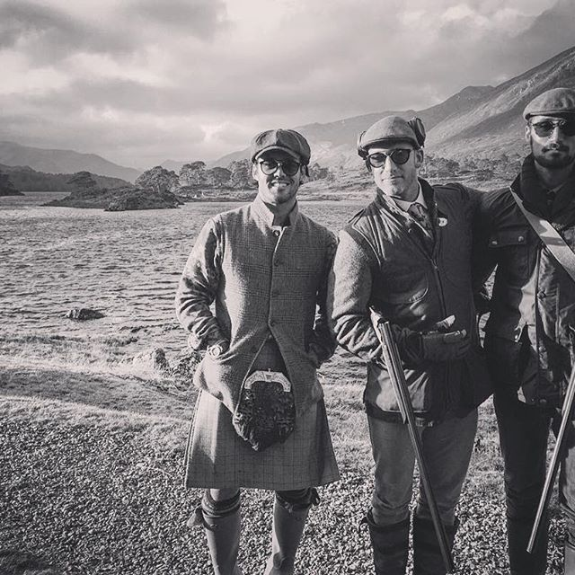 My brothers in arms... #HighendHighlands @maximuskw @hugotaylorlondon