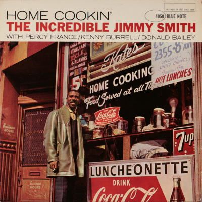 Hammond Organ master - JIMMY SMITH   HOME COOKIN. Jimmy Smith, Kenny Burrell and Donald Bailey