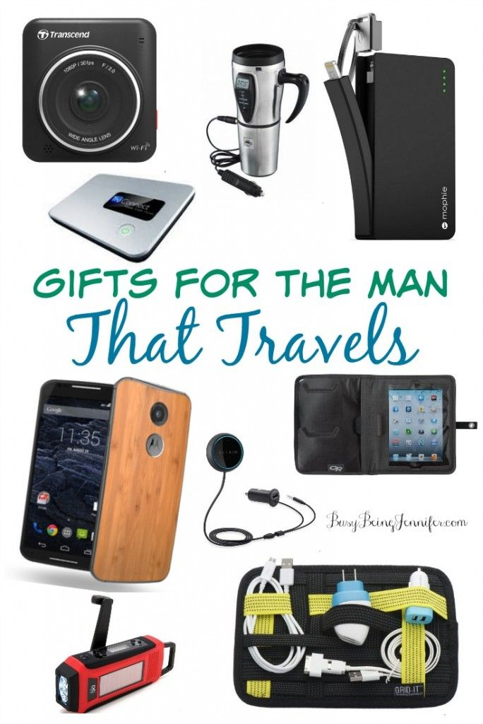 If you've got a traveling husband, these gifts for the man that travels are sure to inspire!
