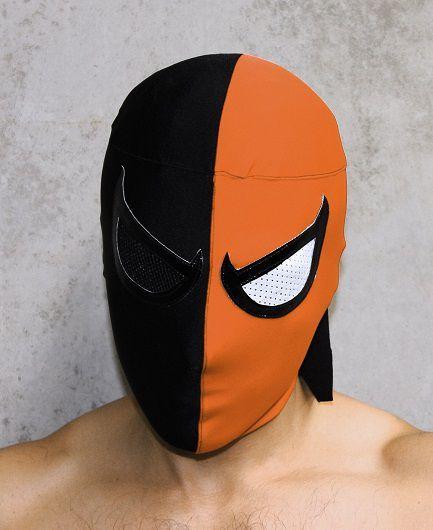 Lucha Libre Mask - Deathstroke
