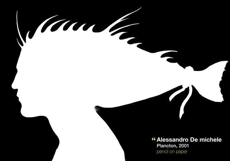 Plancton, 2004 Pencil drawing on paper, 50 x 30 cm http://www.alessandro-de-michele.it/drawings/plancton-2004/