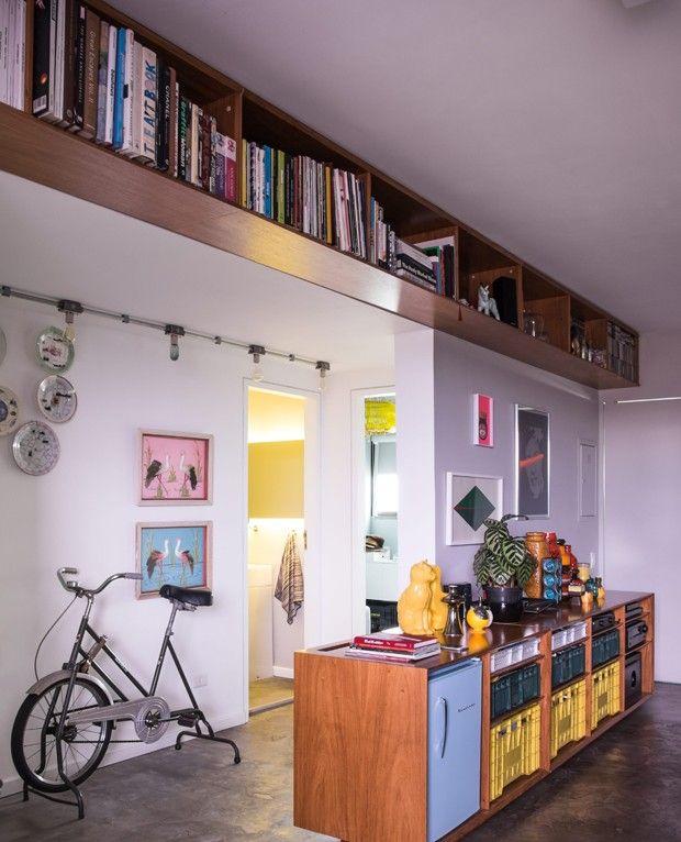 12 ideias para usar prateleiras na decoração