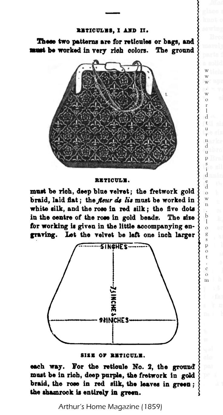 457 best Historical Bag, Reticule, Miser Purse, Pouch