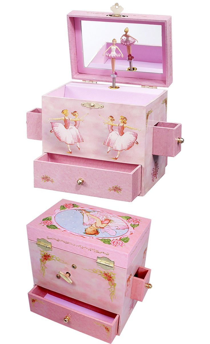 Enchantmints Ballerina Musical Jewelry Box enchantmints artaso