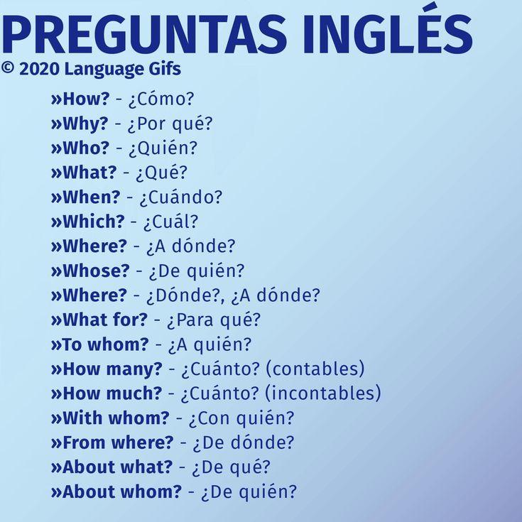 Pin de Celeste Landon en English   Frases basicas en