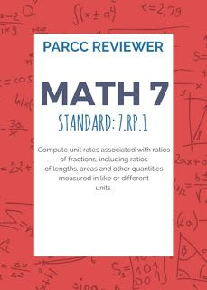 Google my eLearning: Math 7 PARCC Reviewer 1 (7.RP.1)