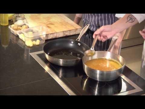 STEKTE POTETER Poteter kan bakes i ovn eller stekes i panne, her ser du hvordan.    BM: http://ndla.no/nb/node/62178?fag=37  NN: http://ndla.no/nn/node/62604?fag=37