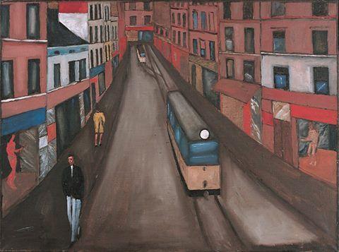 Jerzy Nowosielski (1923-2011) City Landscape, 1959