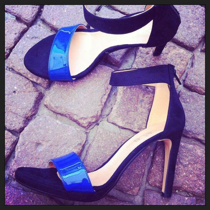 Sandali blu #madeinitaly #scarpedialice