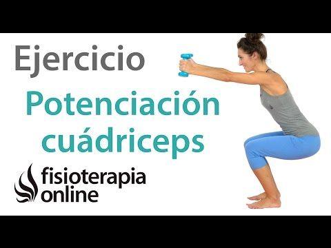 Potenciación o fortalecimiento del cuádriceps. Nivel final o avanzado de recuperación. | Fisioterapia Online