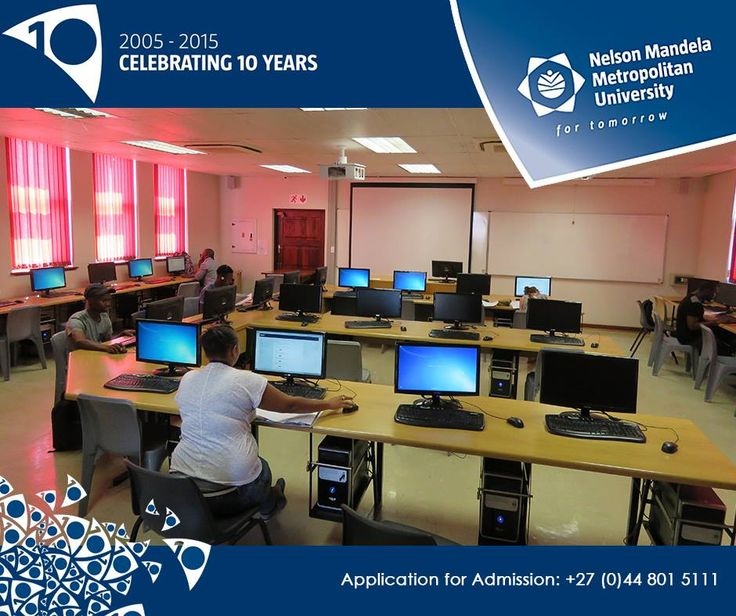 #Didyouknow: Technology helps bridge the gap in learning by providing a limitless amount of educational resources. At #NMMUGeorge, we are, we proud of our state of the art information technology classrooms.