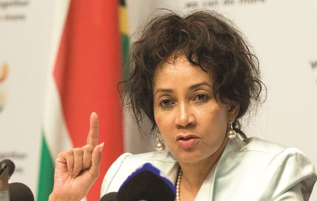 """""""First it was the floods, now this? We will not rest until we find whoever is responsible for these natural disasters."""" Sisulu said."""