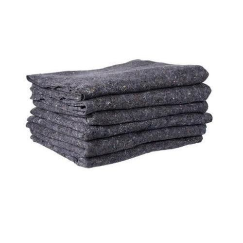 Details About Textile Moving Pads   (6 Pads) Skin Furniture Moving Blankets    22 Lbs./dozen