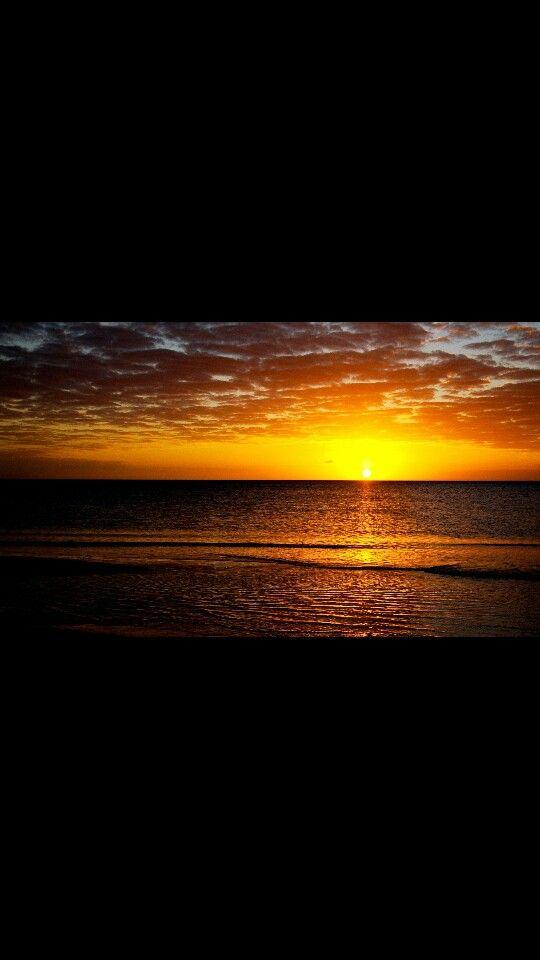 Sunset on my island hone.