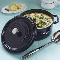 Staub Round Cocotte 28cm - Casseroles - For The Oven - Cookware | Milly's Kitchenware