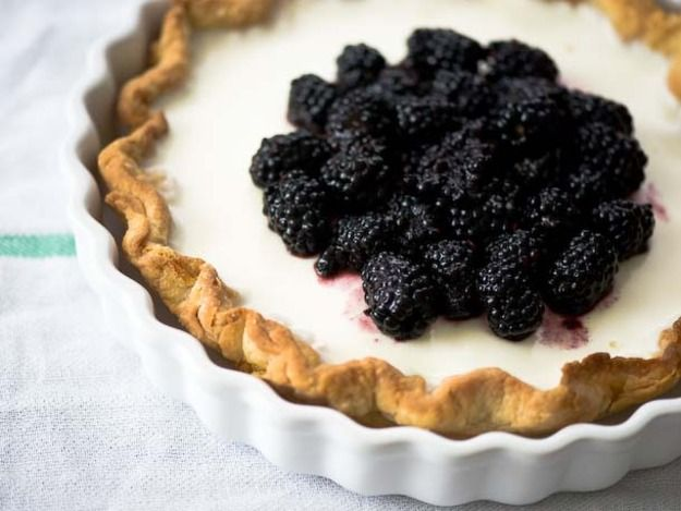 Blackberry Buttermilk Pie | Serious Eats : Recipes | Sweet Stuff ...