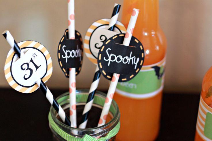 Halloween Food Labels Free