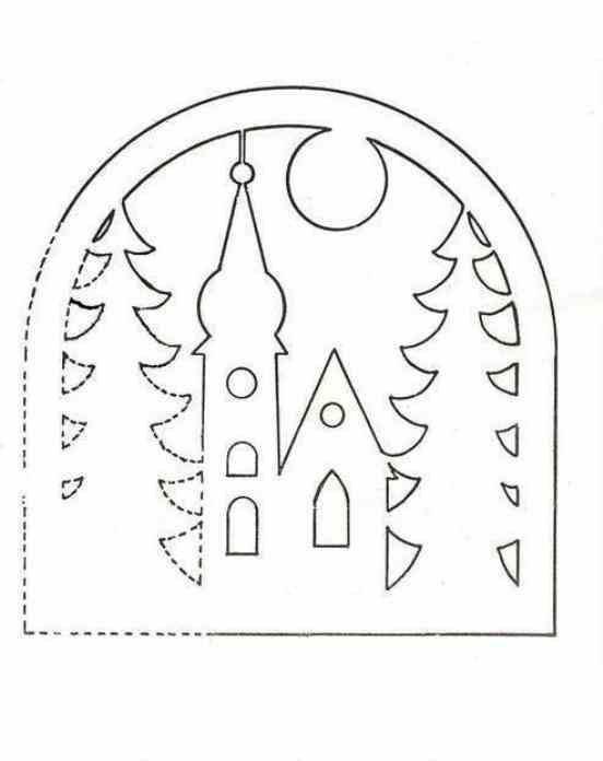 vianočné vystrihovačky do okien - Hľadať Googlom
